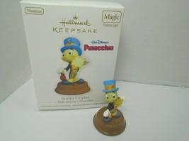 Hallmark Keepsake 2011 Walt Disney Pinocchio, Jimmy Cricket Christmas Or... - $14.01