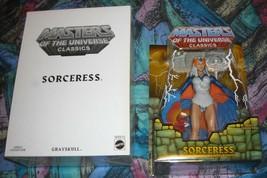 Sorceress MOTUC Masters of the Universe Classics MOSC MOC He-Man Skeletor - $155.00