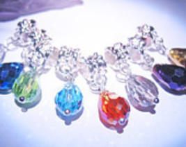 Haunted BEAD CHARMS CHOOSE YOUR MAGICK 925 GEMS WITCH Cassia4  - $24.00
