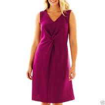 R&K Originals Sleeveless Twist-Front Dress Plus Size 24W New MSRP $80.00 - $21.99