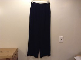 Ann Taylor Lined Black Dress Pants Sz 8