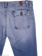 Seven  7 for all Mankind Jeans 30x33 Button Flap Pocket VINTAGE Style Straight - $25.92