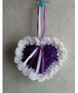Crocheted Heart Sachet - comes in 7 scents - $3.25