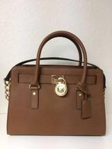michael kors hamilton EW satchel Shoulder Bag Color- Luggage - $149.00