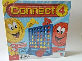 Connect 4 Board Game -  2008 Hasbro Sealed New In Box NIB Family Fun MB ... - $14.73