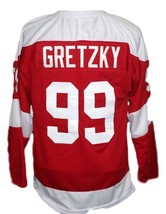 Any Name Number Soo Greyhounds Retro Hockey Gretzky Jersey Red Any Size image 2
