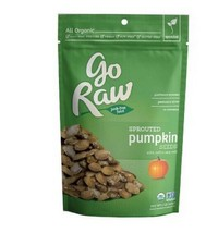 Go Raw Organic Sprouted Pumpkin Seeds 18 Oz Bag - 2 Pack - $29.65