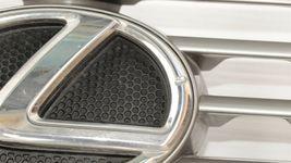 07-09 Lexus ES350 Upper Bumper Radiator Chrome Grill Grille W/Emblem image 7