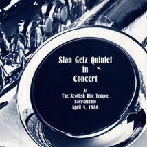 Stan Getz Program 1986 3page 7x7 #Z3314 - $9.79