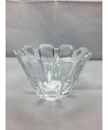 ORREFORS Crystal Corona Bow vase - $34.65
