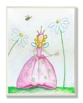 The Kids Room by Stupell Fairy Princess Among Daisies Rectangle Wall Plaque - $34.59
