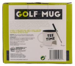 NPW Golf Mug Gift Set Tee Time Cup Club Pen Ball Coffee Tea Gift image 7