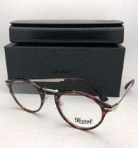 Neuf Persol Lunettes Calligraphique Édition 3167-v 24 49-22 145 Tortue & Or - $229.51
