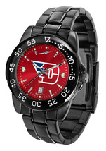 Dayton Flyers Mens Watch Fantom Gunmetal Finish Color Dial - $67.50