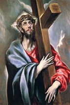 Christ carrying the cross by El Greco - Art Print - $19.99+