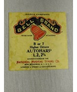 Bell brand AutoHarp Strings B or 7 higher octave 1, 2, 2 3/4 (a12-12) - $14.85
