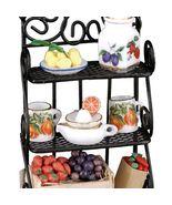 Dollhouse Filled Kitchen Pantry Rack Set 1.477/0 Reutter Miniature - $45.60