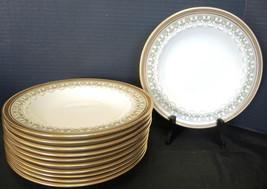 11 Cauldon Rimmed Soup Bowls Made for Higgins & Seiter Pattern L3411 - $189.99
