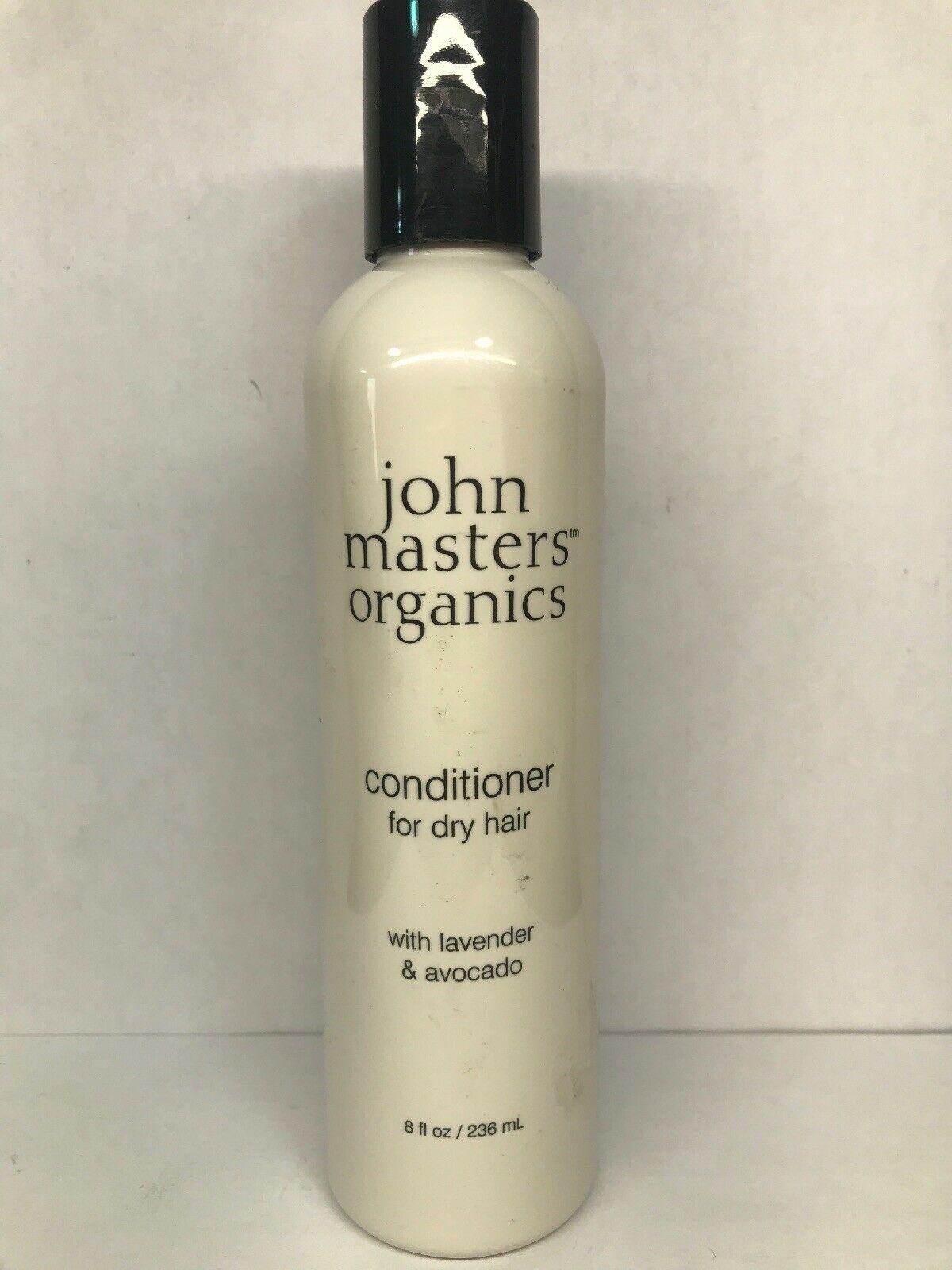 John Masters Organics Conditioner For Dry Hair 8 Ounce w/ Lavendar & Avocado