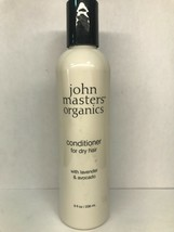 John Masters Organics Conditioner For Dry Hair 8 Ounce w/ Lavendar & Avo... - $14.25