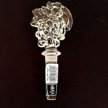 1 (One) MIKASA CHABLIS Grapes Lead Crystal Wine Bottle Stopper T8174900 ... - $18.04
