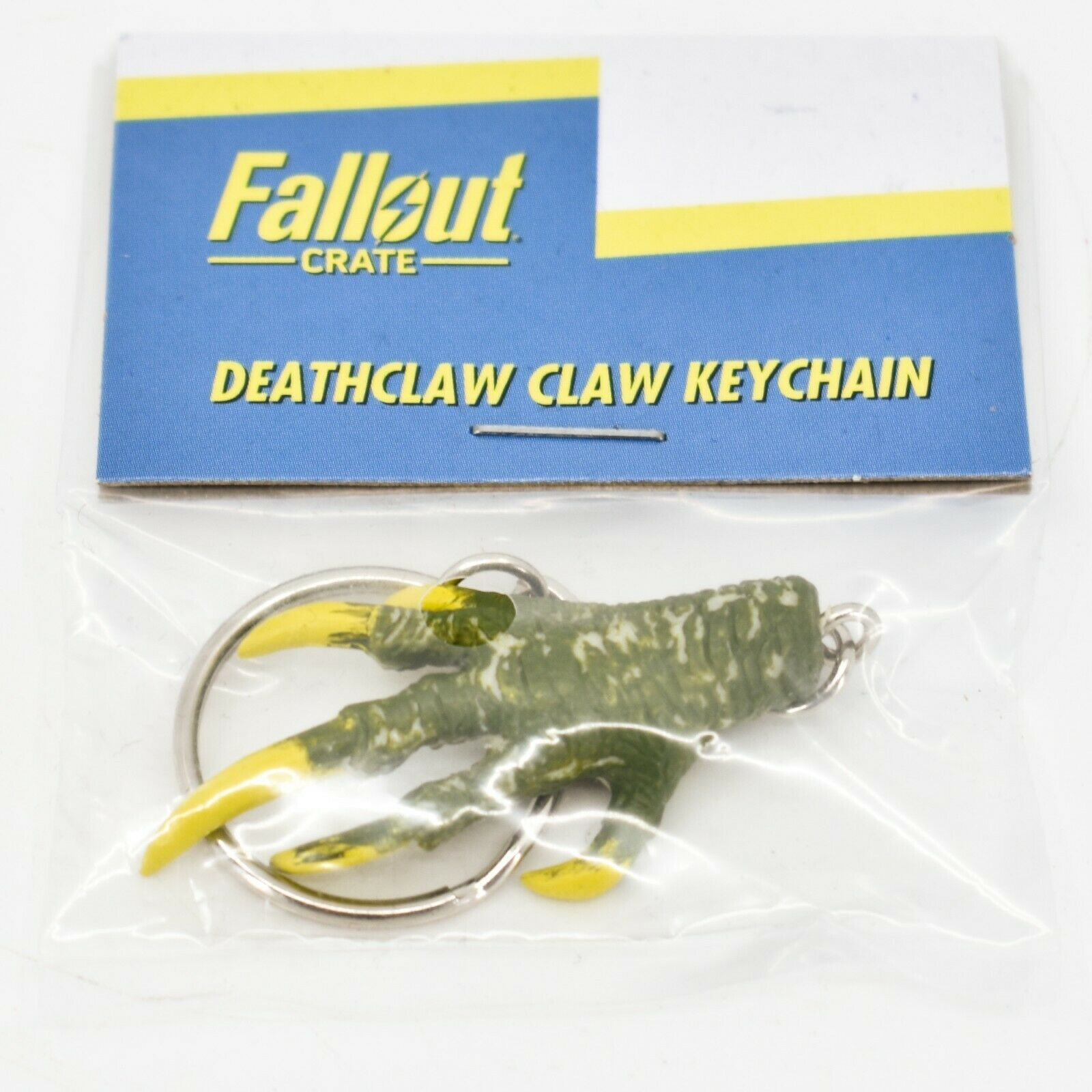 Fallout Crate #18 LootCrate Deathclaw Claw Keychain