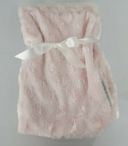Blankets & and Beyond Solid Plain Light Pink Fluffy Furry Baby Girl Blan... - $39.59