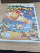 Nintendo Wii FlingSmash - COMPLETE image 1