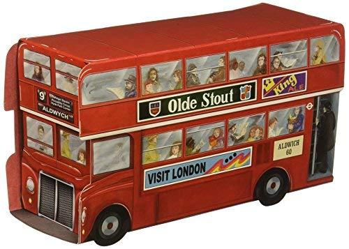 Beistle 54122 Double Decker Bus Centerpiece, 91/4-Inch