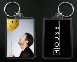 House Md Keychain / Keyring Hugh Laurie Dr Greg House #10 - $7.99
