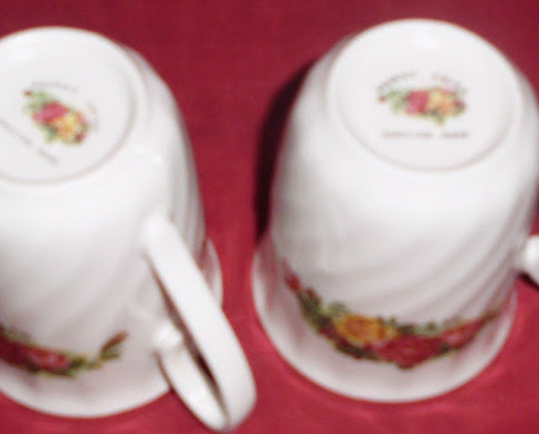 Mug Regent China English Rose Coffee Tea Flora Design Set 2