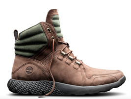 TIMBERLAND FlyRoam Men's Limited Chocolate Brown Leather Boots TBOA1LPY ... - $109.99