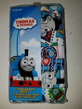 Thomas the Tank Engine Train  Or CARS Toddler Boys' 7 Pack Underwear Briefs 4T image 1