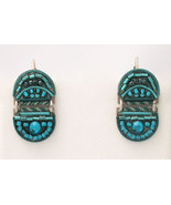 Signed ADAYA Maya Rayten Micro Mosaic Earrings - $42.00