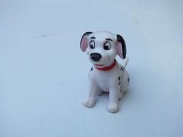 Vintage Disney 101 Dalmatians Sitting Puppy Dog Red Collar 1 1/2 Inch Fi... - $6.78
