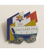 2002 Salt Lake City Winter Olympics Covered Wagon Pin Limited Edition 37... - $24.70