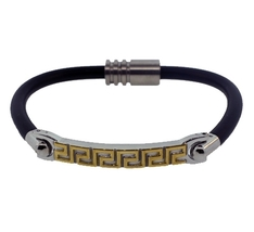 4174593 qb13 leather magnetic bracelet thumb200
