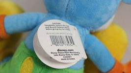 """Disney Parks 10"""" Blue Yellow Mickey Mouse Stuffed Plush Toy With Original Tags image 9"""