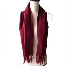 Vintage Christian Dior Monsieur Unisex Red Scarf - $74.25