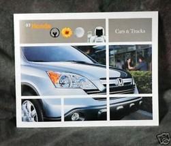 2007 Honda Cars and Trucks - $2.00