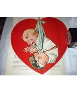 Charming Twelvetrees Large Red Heart with Boy Baby-Magazine  - $25.00