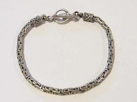 Vintage sterling silver 925 bracelet 8'' long - $35.00