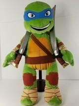 Build-A-Bear: Teenage Mutant Ninja Turtles Leonardo with Shell and 2 Swo... - $38.69