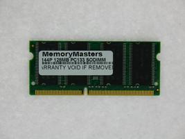 LOT OF TEN 128MB SDRAM RAM PC133 SODIMM 144-PIN 133MHZ