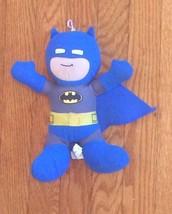 "DC Super Friends Batman 9"" Plush Figure Doll Action Inches Blue Grey Yel... - $14.50"
