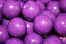 Gumballs Grape Bubble Gum 25mm Or 1 Inch (114 Count), 2LBS - $27.22