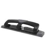 NEW Swingline Low Force Punch 3 Hole Punch 12 Sheet Capacity Model: 74134 - $16.05
