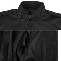 Men's Athletic Lightweight Water Resistant Slim Fit Racer Jacket image 9