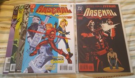 Arsenal #1-4 (complete mini-series) plus Arsenal Special #1 (1996) - $13.00