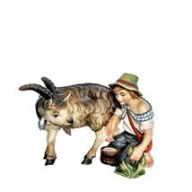 Shepherd with Goat for Nativity Scene set, Nativity Figurines,  Religiou... - $34.95+